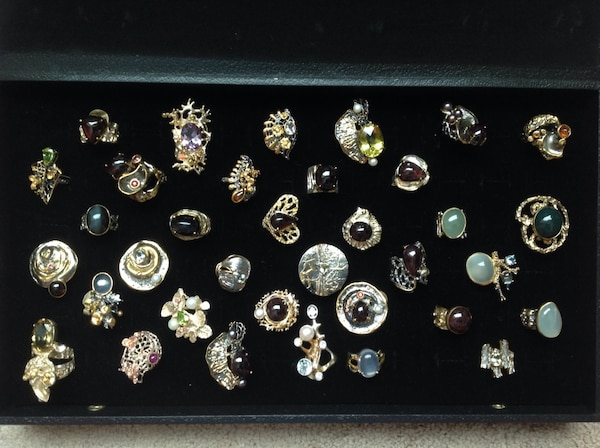 Ring's - natural stones - make an offer 4c3ce28a-edba-441d-ae13-a2848d32179f