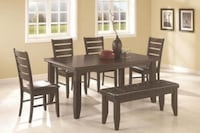 6 PIECE DINING TABLE SET Edmonton