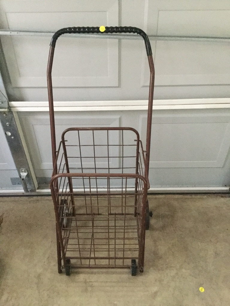 Photo Small shopping cart