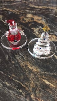 Partylite crystal tealight holders