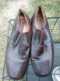 pair of brown leather dress shoes Washington