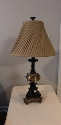 Rubbed Bronze and Gold Lamp Charlottesville, 22903