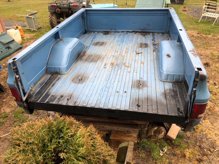 Photo 1973-1987 chevy gmc 8 foot fleet side truck bed