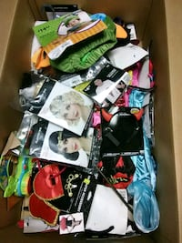 Halloween box lot of costumes and other things Englewood, 45322