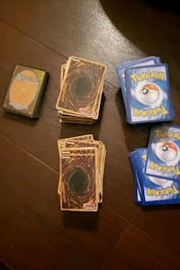 Yugioh and pokemon cards
