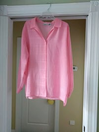 pink button-up long-sleeved shirt Myrtle Beach, 29588