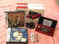 Nintendo 3DS Mint in Box with Charger and Earbuds PLUS SD Card and Games!! Pick up only! 145$ Brampton, L6Y 4G6