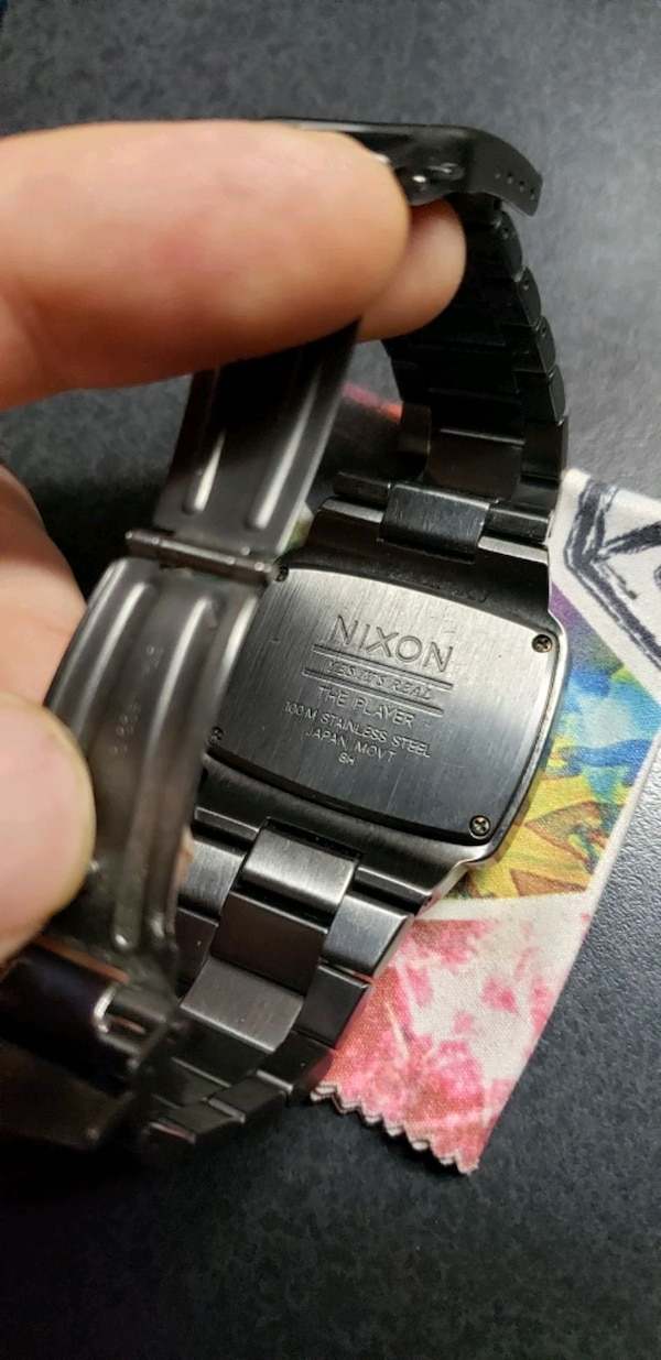 Nixon the player watch new battery  31e27d60-20bf-472b-9756-dce1b5e5cd6f