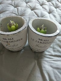 Two white Le Jardinier brand new candles  Mississauga, L5R