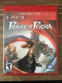 Ps3 Prince of Persia - $10 New Westminster, V3L
