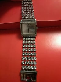 square silver analog watch with link bracelet North Las Vegas, 89030