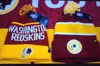 Redskins new ski hats with tags
