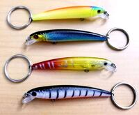 Fishing lure keychains Warr Acres, 73122