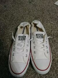 pair of white Converse All Star low-top sneakers Concord, 28027