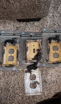 Bear outlet and switch plate covers