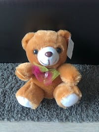 NEW Mini Plush Toy with Best Wishes Tag Markham, L3R