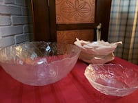 Salad bowl and serving bowl 22 mi