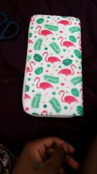 white, green, and red floral textile Brossard, J4W 1V8