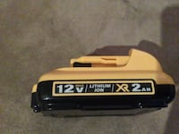 Dewalt 12v battery Abbotsford, V2T 1E5