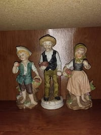 Collectable glass dolls