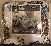 black and white floral comforter set Cary, 27519