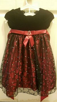 red and black floral skirt North Potomac, 20878