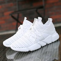 NEW/ Men's Designer Breathable Casual Shoes/ White SYDNEY