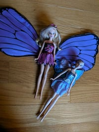 Barbie Mariposa and Willa Purple Fairy Leesburg, 20176