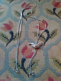 """Exquisite Silver Tone 26"""" Necklace  Wyomissing"""