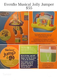 Jolly jumper, musical, New in box