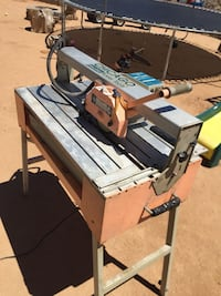 """7"""" 1 1/2hp wet saw with stand 175.00OBO Barstow, 92311"""