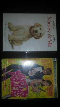 2 Brand New DVD'S/Movies FACTORY SEALED