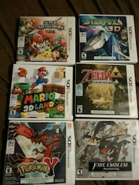3DS CASES ONLY 12 FOR ALL OR 2 EACH Oshawa, L1K 1K9
