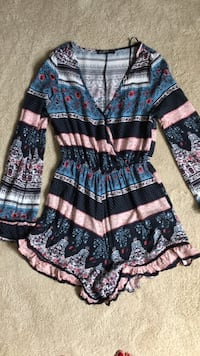 Cotton:on sizeSmall floral print romper Mississauga, L5L 5H8