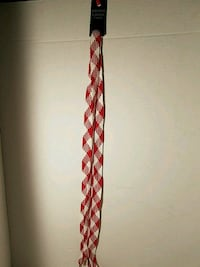 Red White Thick Shoe Sneaker Laces