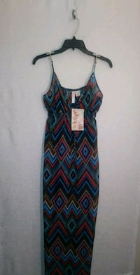SHEER PRINT SUN DRESS Wichita