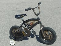 """OUTGROWN 12"""" LITTLE BOY'S TOW MATER FROM MOVIE """"CARS"""" + TRAINING WHEELS!"""