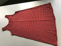 red and white stripe spaghetti strap dress Toronto, M6R 1Z8