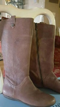 These are great boots. Zip sides.  New with box.  size 6.5