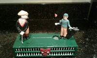 Vintage Golf Cast iron action bank