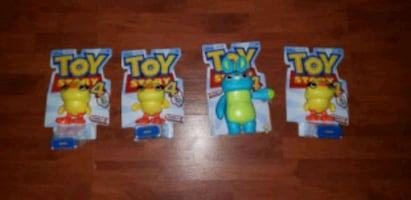 Toy story 4 action figure lot