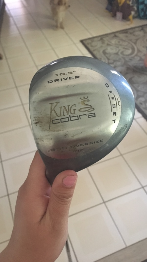 King cobra driver left hand swing