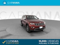 2018 *Jeep* *Grand* *Cherokee* Limited Sport Utility 4D suv Red Downey