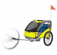 black and yellow bicycle trailer Chantilly, 20152