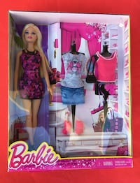 Barbie Fashionitas Doll With fashions Outfits Shoes Giftset Westminster, 92683
