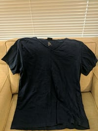 Men's blue v-neck t-shirt Pitt Meadows, V3Y 2J5