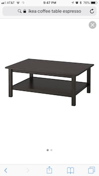 Ikea Hemnes coffee table - has some scratches on top Fern Park, 32730