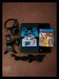 PS4, SOLD AS BUNDLE ONLY 830 km