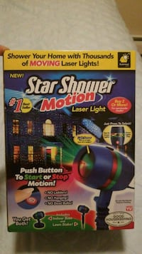 Star Shower Motion Laser Light (Christmas Decor) Milford