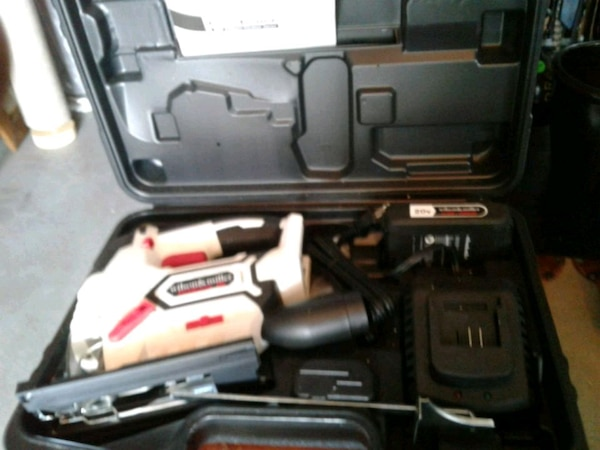 Wilson and Miller 20volt  jigsaw new in case